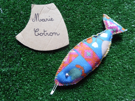 broche poisson vintage